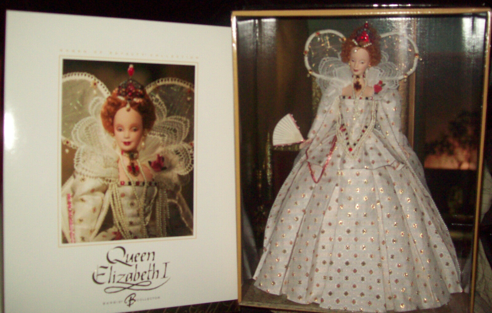 2004  Queen Elizabeth I  Women of Royalty Barbie NEW .