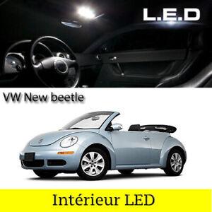 Kit-ampoules-a-LED-eclairage-interieur-blanc-Volkswagen-New-Beetle-Cabriolet-1Y