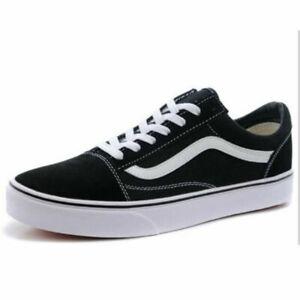 brand new 90a40 e4138 Details about VAN-S1 Old Skool Damen Herren Canvas Sneaker Freizeitschuhe  Skate Schuhe NEU