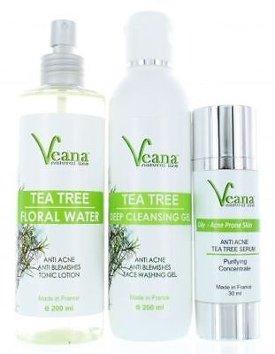 Hydrating Serum Soothing Toner Anti Acne Cleansing Gel