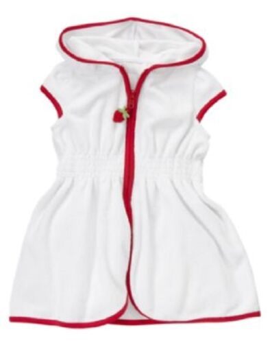 NWT GYMBOREE STRAWBERY SWIMSUIT size 3T  with cover-up and tie hat