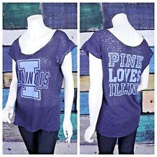 420f59b34e038 Victoria's Secret Pink University of Albany Bling Graphic T Shirt ...