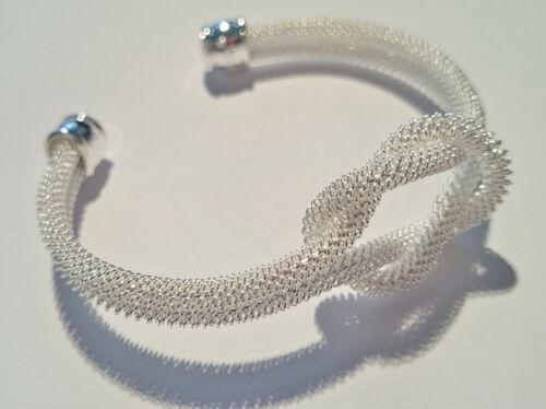 Armreif Armspange Armband 925 Sterling Silber Damen Schmuck Geschenk NEU