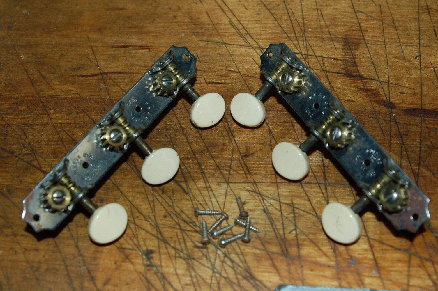 Vintage RARE 1940's Pre War Kluson Patent No Guitar Tuners Luthier Part