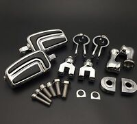 Chrome Peg Mounting Kit With Foot Peg 1.25for Honda Goldwing Shadow