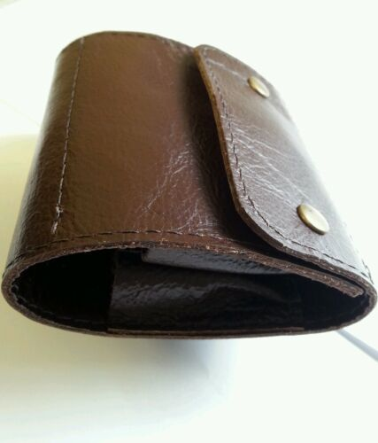 .270/25.06/30.06/7x57/6.5x55/7x 64. PROIETTILE Wallet. Marrone Vera Pelle. 10 round.