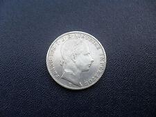 Antigua moneda, plata, francos. el iOS. I.D. avstriae emperador 1859 B, coleccionista