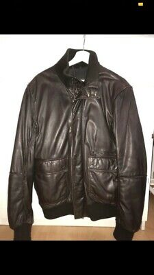 Details zu Strellson Lederjacke Herren Mode Kleidung Gr. L, Einwandfreier Zustand, NP:400€