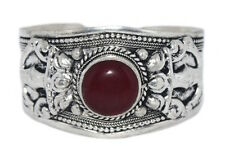 Quartz Bracelet Boho cuff Bracelet Silver Bracelet Tribal Bracelet Tibetan D