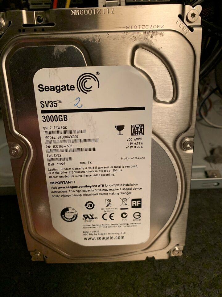 Seagate, 3000 GB, God