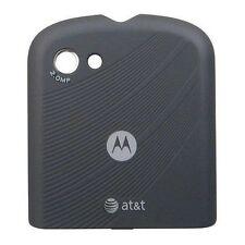 Used OEM Motorola Karma QA1 AT&T Black Replacement Part Battery Back Cover Door