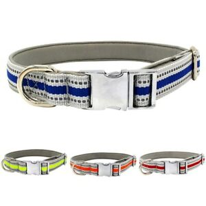 Pet-Dog-Safety-Reflective-Collar-Safety-Puppy-Adjustable-Nylon-Buckle-Neck-Strap