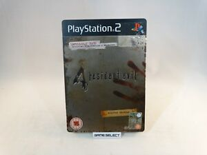 RESIDENT-EVIL-4-LIMITED-EDITION-STEELBOOK-SONY-PS2-PLAYSTATION-2-PAL-COMPLETO