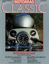 Motorrad Classic 6-8/88 1988 Aermacchi Ala d'Oro Moto Guzzi Falcone Norton 88 Do