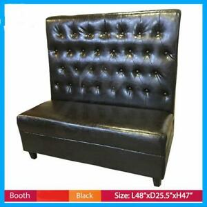 Booths Seating Black Button Style Commercial Restaurant Booth Seat Canada Preview