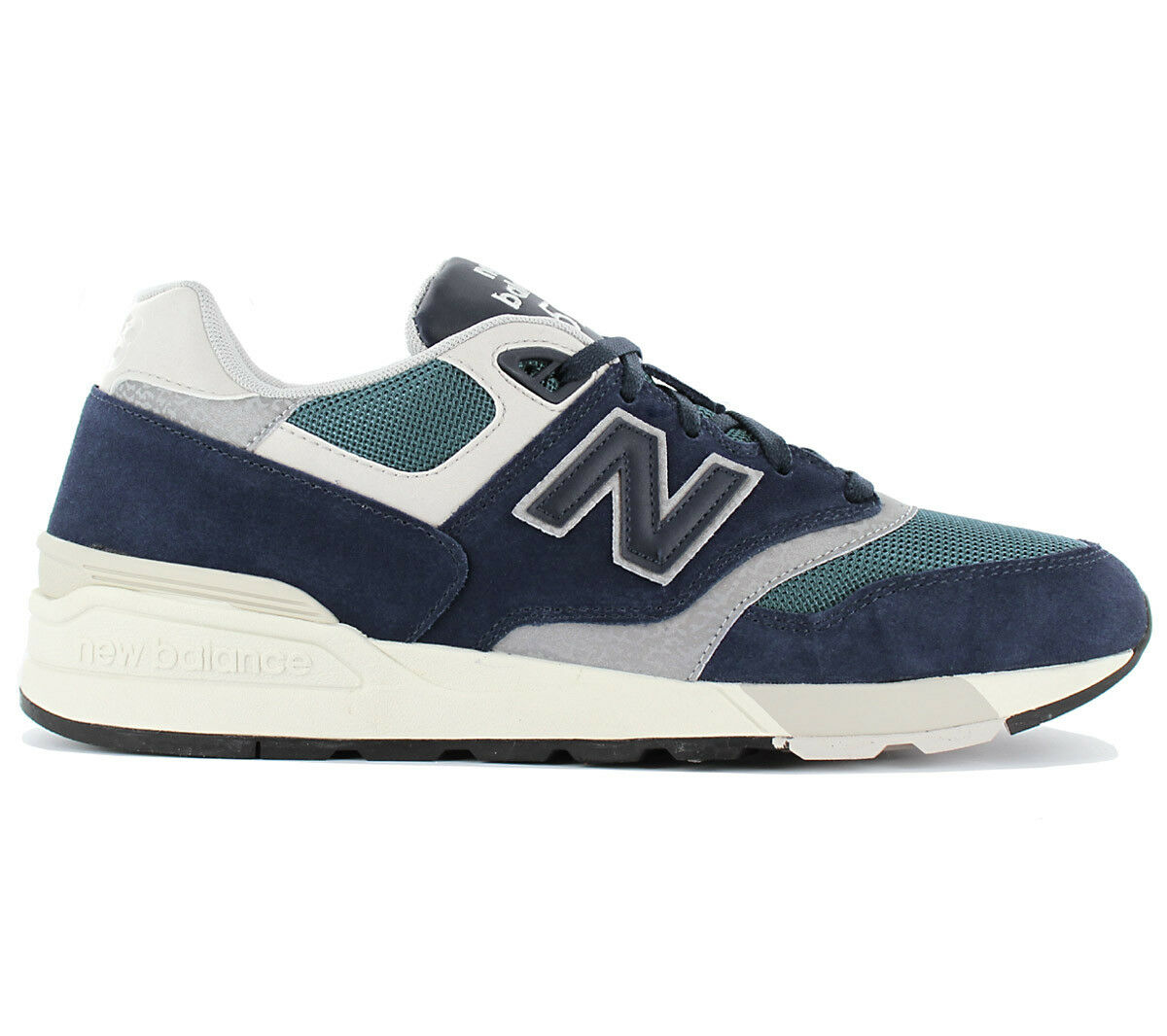 NEW BALANCE CLASSICS 597 Sneaker Men's Shoes Blue Trainers ML597 ML597AAA
