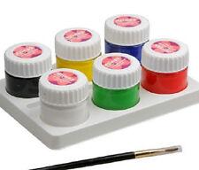 Bodypainting Farbe 6x10ml set Farben für Farbe für Körperbemalung Facepainting