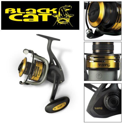 Spinnrolle Black Cat Passion Pro FD 680 Rolle Wallerrolle zum Spinnfischen