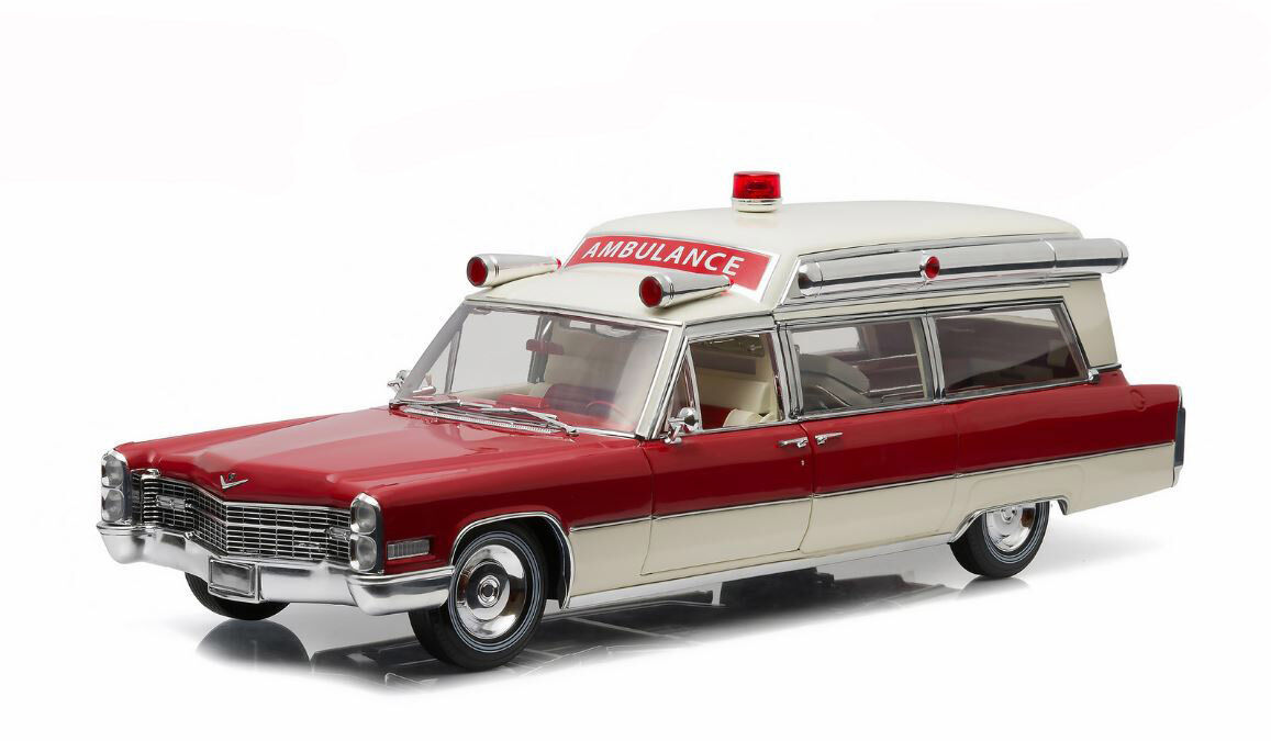 Verdelight Collectibles 2018 Cadillac S&S 48 High Top Ambulance 1/18