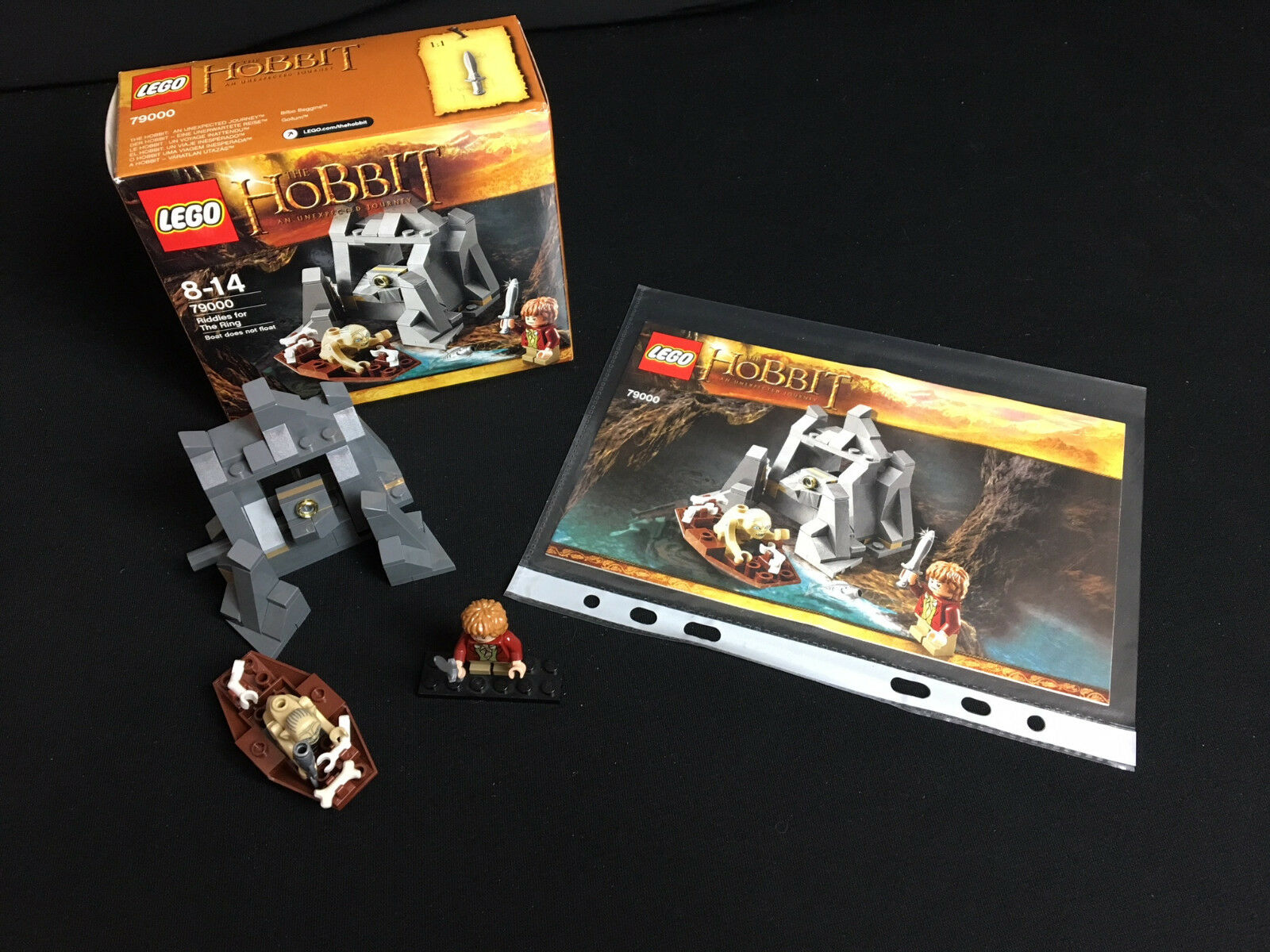 Lego 79000 The Hobbit Riddles for the Ring Rätsel um den Ring komplett complete