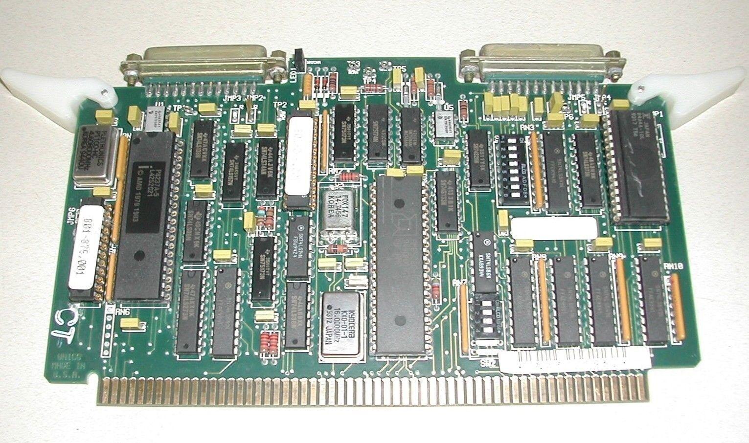 Unico 312-800.2 9449 PC Board Control Module Used Nice W11-4