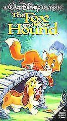 The Fox And The Hound VHS, 1994 Black Diamond Classics - $5.20