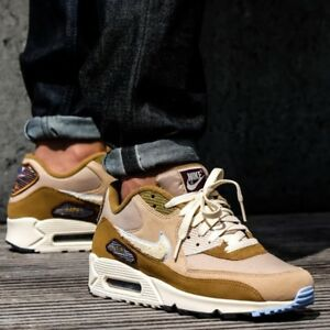 eede3fa50aa Nike Air Max 90 Premium SE CHENILLE SWOOSHES Men s Shoes Lifestyle ...