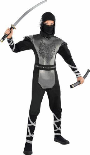 Ragazzi Ninja Costume Bambini PRENOTARE SETTIMANA ABITO Teen Vestito STORIA Vestirsi