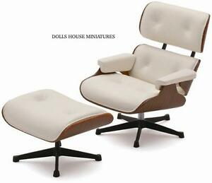 Eames Lounge Chair And Ottoman Limited Edition Doll House