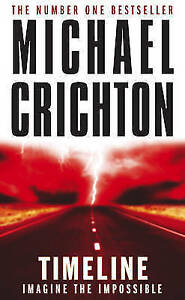 Timeline-by-Michael-Crichton-Paperback-NEW-Book
