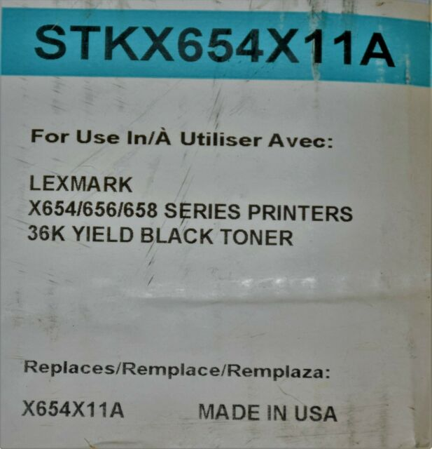 Lexmark X654X21A Compatible Cartridge