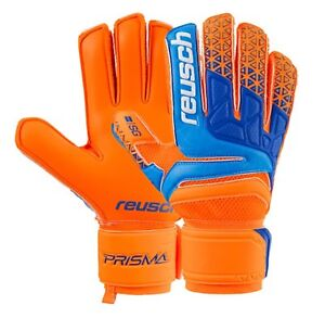 f89b24c244d Reusch Men GK Prisma SG Extra Goalkeeper Orange Blue Soccer Gloves ...
