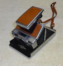Vintage Polaroid SX-70 Land Camera Alpha 1 Instant Brown with Original Strap