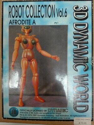 Accurato Robot Collection Vol.6 Afrodite A Model 3d Studio - Art. 006 - Kit In Resina Supplemento L'Energia Vitale E Il Nutrimento Yin