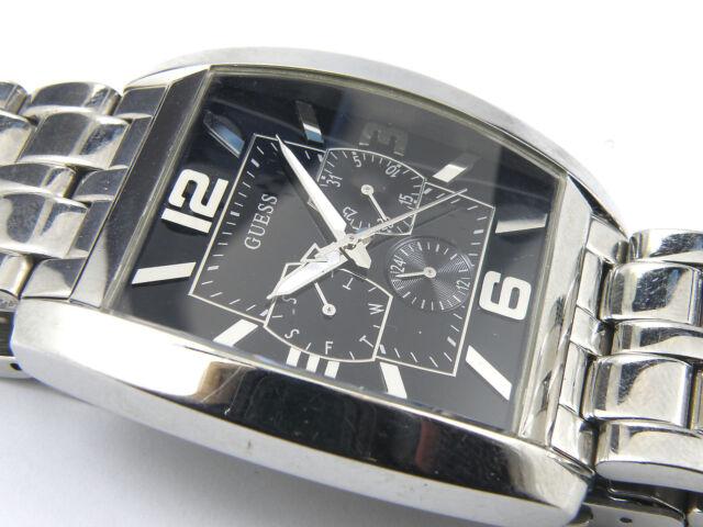 GUESS Men's W95015G1 Power Broker Multifunction Watch