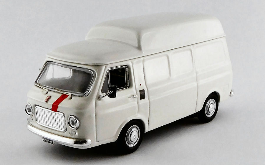 Fiat 238 Tetto Alto 1970 White 1 43 Model RIO4519 RIO