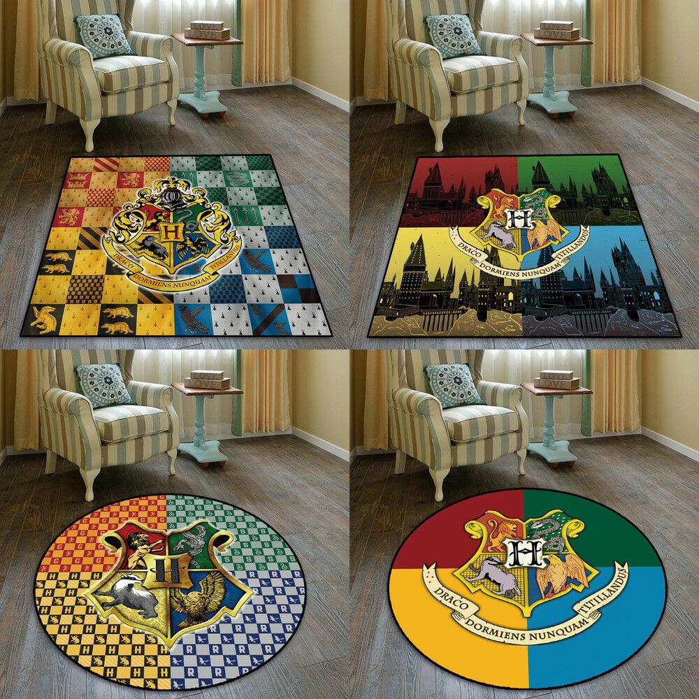 Harry Potter Hogwarts Emblem Square