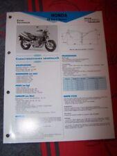 2F - Fiche Technique Moto RMT ETAI HONDA CB600F CB 600 F Hornet