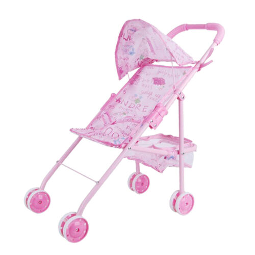 Foldable Iron Frame Reborn Baby Passeggino Passeggino per bambini Gioco di