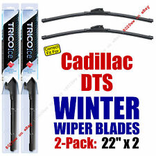 WINTER Wipers 2-Pack Premium Grade - fit 2006-2011 Cadillac DTS - 35220x2