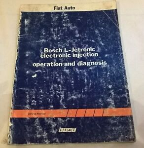 fiat auto bosch l jetronic electronic injection operation and rh ebay co uk Bosch Jetronic Bosch K -Jetronic Troubleshooting