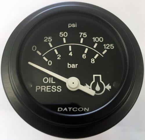 101083 Oil Pressure Gauge 0-125 PSI 12V Datcon