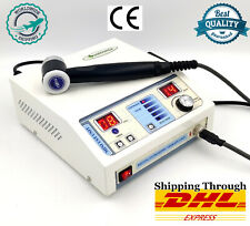 Compact Ultrasound Machine Physiotherapy Chiropractic Pain Relief Device Unit