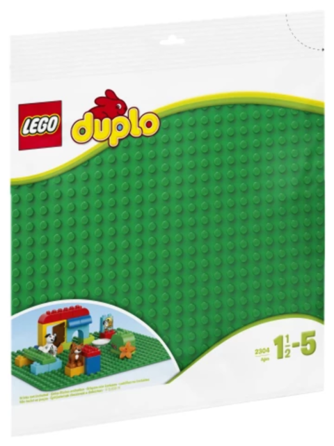 LEGO® DUPLO® - Large green building plate (2304)