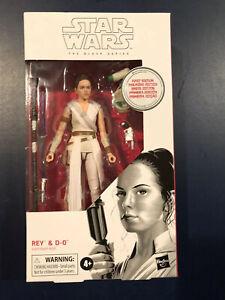 Rey /& D-0 Star Wars the Black Series White
