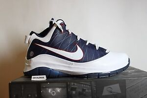 the best attitude ace4c c2600 Image is loading NIKE-AIR-ZOOM-LEBRON-7-VII-P-S-WHITE-