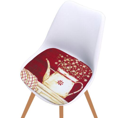 Imprimé coton tapis salle à manger extérieure jardin cuisine chaise Coussin