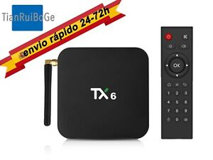 TX6-4-32G-64G-Android-9-0-Smart-TV-BOX-Allwinner-H6-Quad-Core-2-4G-y-5G-WIFI