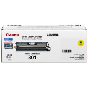 Canon-Genuine-CART-301Y-YELLOW-Toner-For-LBP5200-MF8180C-4-000-Pages