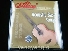 Alice A616-L Acoustic Bass Strings 4 Coated Copper Alloy Wound Strings 040-095